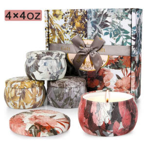 Flower Scented Candles