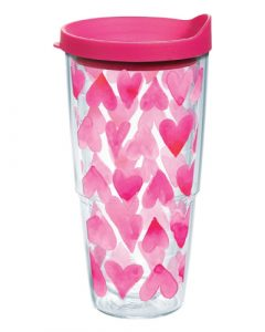 Tervis Pink Hearts All Over Tumbler